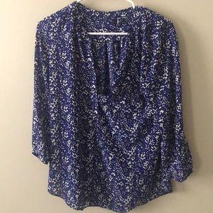 NYDJ Women's Small Blouse - Blue